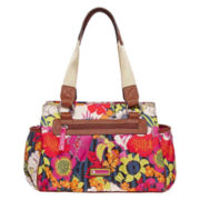 Lily Bloom Triple-Section Satchel