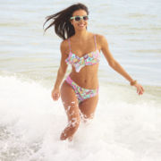 Arizona Flounce Swim Top or Hipster Swim Bottoms - Juniors