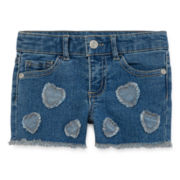 Arizona Embellished Shorty Shorts - Toddler Girls 2t-5t