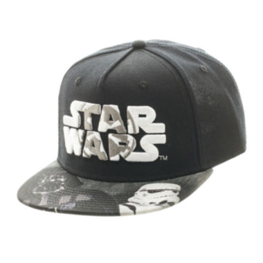jcpenney.com | Star Wars Imperial Logo Darth Vader and Storm Trooper Snapback Cap