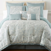 Home Expressions™ Marlton 7-pc. Comforter Set & Accessories
