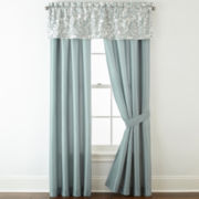 Home Expressions™ Marlton 2-Pack Rod-Pocket Lined Curtain Panels