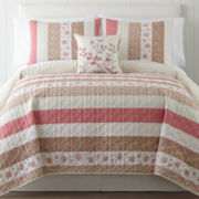 Home Expressions™ Piper Quilt & Accessories