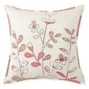 Home Expressions™ Piper Square Embroidered Decorative Pillow