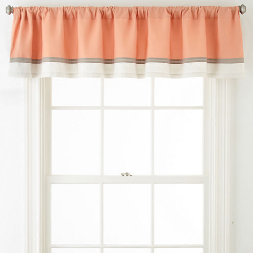 Home Expressions™ Grace Rod-Pocket Valance