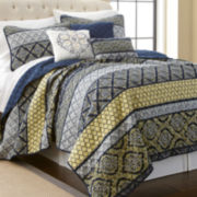 Carrie 6-pc. Reversible Quilt Set
