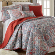 Donna 6-pc. Reversible Quilt Set