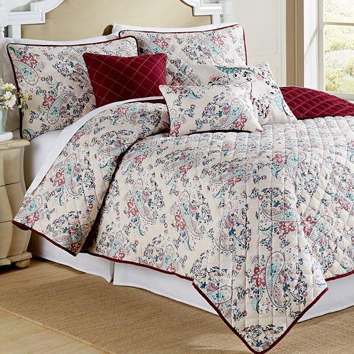 Pacific coast Textiles Samantha 6-pc. Reversible Quilt Set