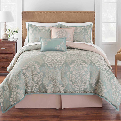 Grand Patrician Brighton Damask Comforter Set