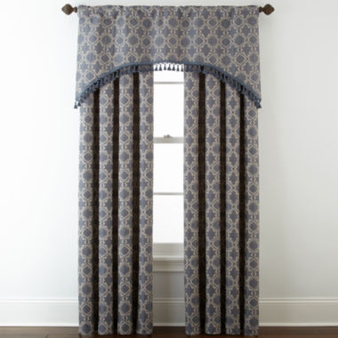 jcpenney.com | Royal Velvet® Octavia Rod-Pocket/Back-Tab Window Treatments