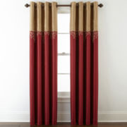 Royal Velvet® Captiva Grommet-Top Curtain Panel