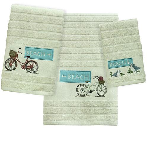 Bacova Beach Cruiser Jacquard Bath Towel