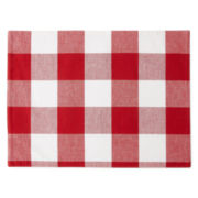 JCPenney Home™ Set of 4 Buffalo Check Placemats