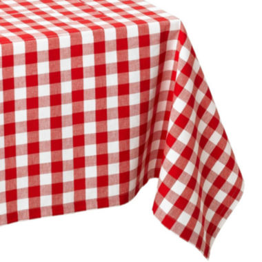 jcpenney.com | Design Imports Checkers Red & White Tablecloth