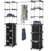 Whitmor Deluxe Double-Rod Organizer