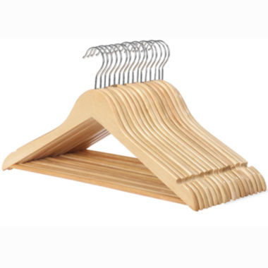 jcpenney.com | Whitmor 16-pc. Wood Suit Hanger Set