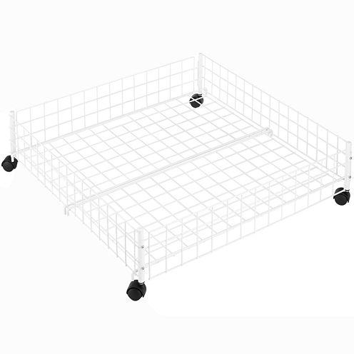 Whitmor Rolling Underbed Storage Cart