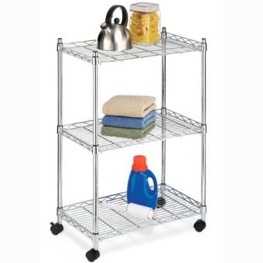 jcpenney.com | Whitmor Supreme 3-Tier Cart