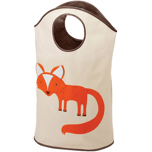 Whitmor Laundry Hamper Tote Fox