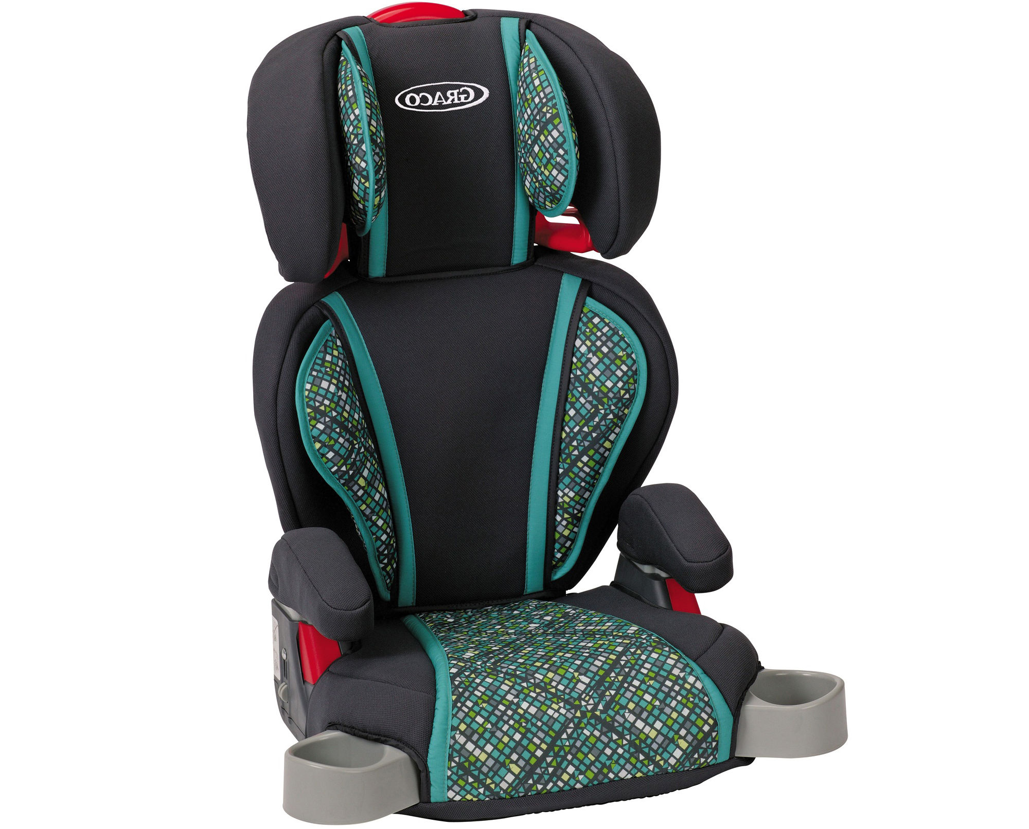Get Graco Highback Turbobooster Car Seat Mosaic Offer