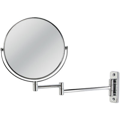 Wall Mount Magnifying Mirror extendible wall-mount 5x magnifying mirror