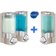 Signature Satin Nickel Single & Double Liquid Soap Dispensers