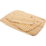 Core Bamboo™ Classic Pinstripe Cutting Board Combo Pack
