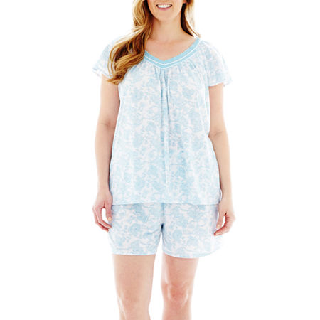 Earth Angels Tank and Boxers Pajama Set - Plus