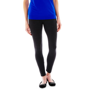 jcpenney.com | Mixit™ Knit Leggings - Plus