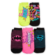 5-pk. Superhero Low Cut Socks