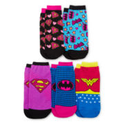 5-pk. Supergirl Low Cut Socks