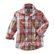 OshKosh B'gosh® Long-Sleeve Plaid Shirt - Boys 5-7