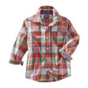 OshKosh B'gosh® Long-Sleeve Plaid Shirt - Boys 2t-4t