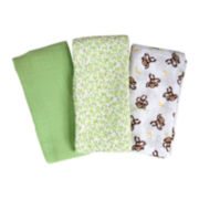 Summer Infant® SwaddleMe® 3-pk. Muslin Blankets - Go Bananas