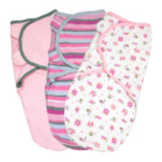 Summer Infant® 3-pk. SwaddleMe® - Girly Bug