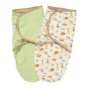 Summer Infant® 2-pk. Organic Cotton SwaddleMe® - Zoo