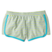 Xersion™ Stripe French Terry Short- Girls Plus