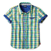Baker by Ted Baker Sutton Short-Sleeve Shirt - Boys nb-24m