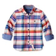 Baker by Ted Baker Poplin Long-Sleeve Shirt - Boys nb-24m