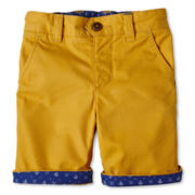 Baker by Ted Baker Zabini Twill Shorts - Boys nb-24m