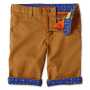 Baker by Ted Baker Zabini Topaz Twill Shorts - Boys 2-6