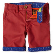 Baker by Ted Baker Zabini Berry Twill Shorts - Boys 2-6