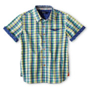 Baker by Ted Baker Sutton Short-Sleeve Shirt - Boys 6-14