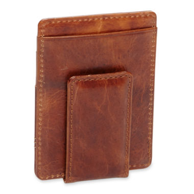 jcpenney.com | Claiborne® Leather Wallet w/ Magnet Clip