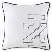 IZOD® Logo Square Decorative Pillow