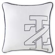 IZOD® Logo Square Decorative Pillow