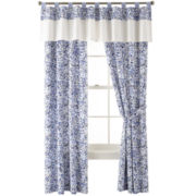 IZOD® Pacific 2-Pack Tab-Top Curtain Panels
