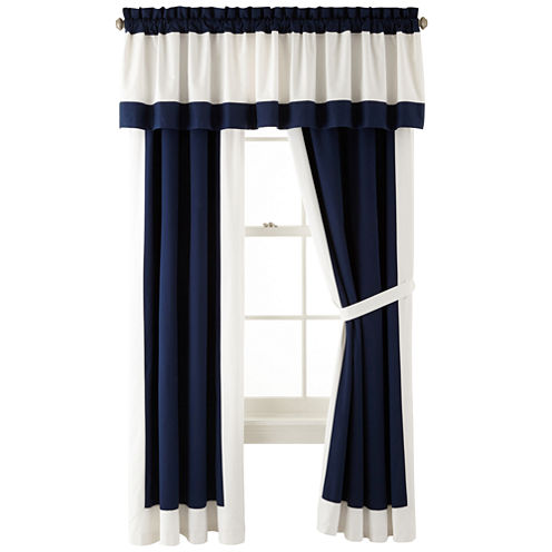 IZOD® Varsity Stripe 2-Pack Curtain Panels