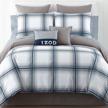 jcpenney.com | IZOD® Oxford Plaid Comforter Set & Accessories