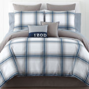 IZOD® Oxford Plaid Comforter Set & Accessories